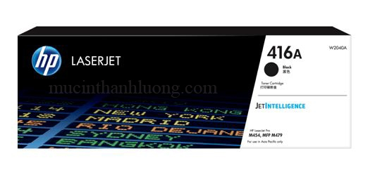 Mực In HP 416A Black LaserJet Toner Cartridge W2040A