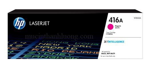Mực In HP 416A Magenta LaserJet Toner Cartridge W2043A
