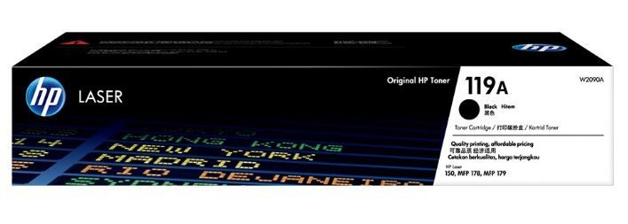 Mực In HP 119A Black Original Laser Toner Cartridge (W2090A)