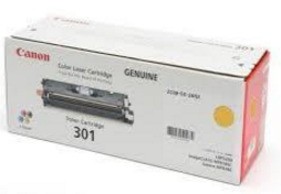 Mực in Canon 301 Yellow Laser Toner Cartridge