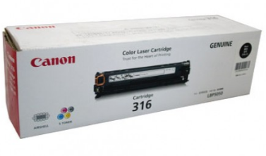 Mực in Canon 316 Black Toner Cartridge