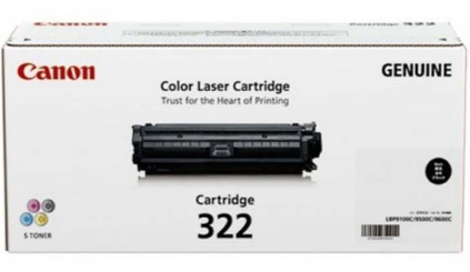 Mực in Canon 322 Black Laser Toner Cartridge