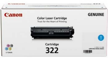Mực in Canon 322 Cyan Laser Cartridge