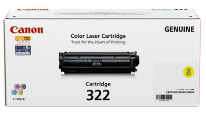 Mực in Canon 322 Yellow Laser Cartridge