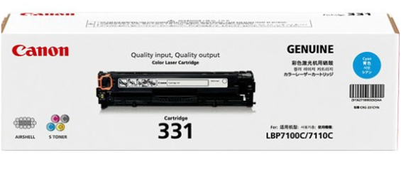 Mực in Canon 331 Cyan Toner Cartridge