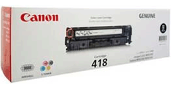 Mực in Canon 418 Black Toner Cartridge