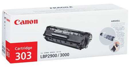 Mực in Canon 303 Black Laser Toner Cartridge