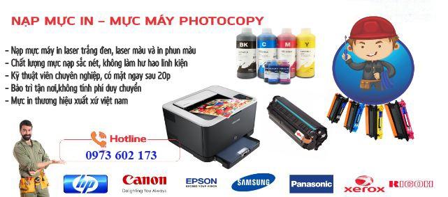 Nạp Mực Máy In HP Color M252n/ M252DW / MFP M274N