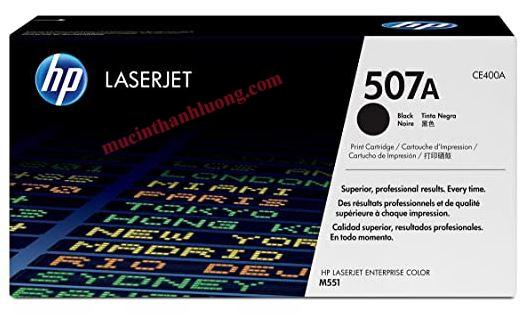 Mực In CE400A (HP 507A) Black - Dùng Cho Máy HP M551