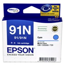 Mực in Epson 91N Cyan