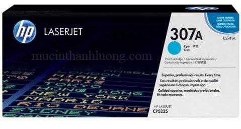 Mực In HP 307A Cyan LaserJet Toner Cartridge (CE741A)