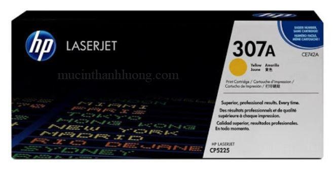 Mực In HP 307A Yellow LaserJet Toner Cartridge (CE742A)
