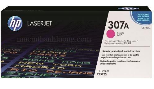 Mực In HP 307A Magenta LaserJet Toner Cartridge (CE743A)