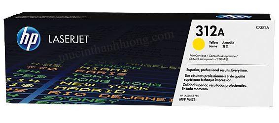 Mực in HP 312A Yellow LaserJet Toner Cartridge (CF382A)
