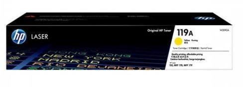 Mực In HP 119A Yellow Original Laser Toner Cartridge (W2092A)