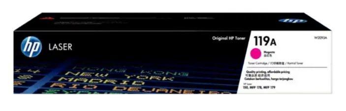 Mực In HP 119A Magenta Original Laser Toner Cartridge (W2093A)