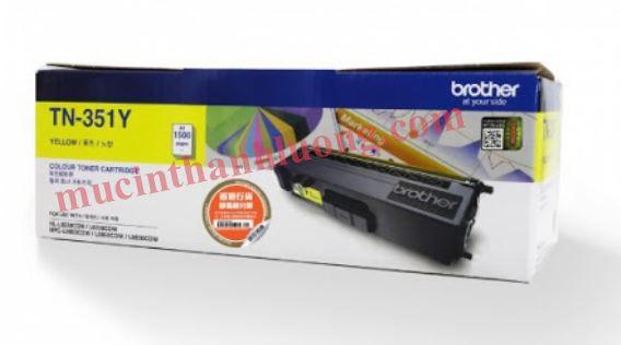 Mực in Brother TN-351 Yellow Toner Cartridge (TN-351Y)
