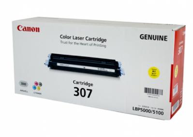 Mực in Canon 307 Yellow Toner Cartridge