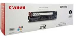 Mực in Canon 418 Black Toner Cartridge