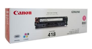Mực in Canon 418 Magenta Toner Cartridge